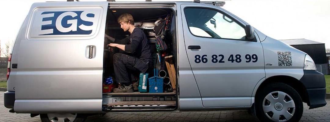 El-Gården's elektrikere kører over hele Silkeborg